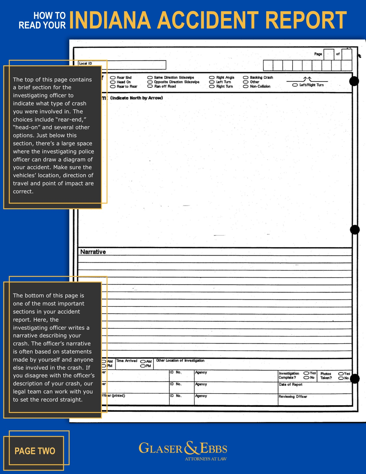 How to Read Your Accident Report pg. 2